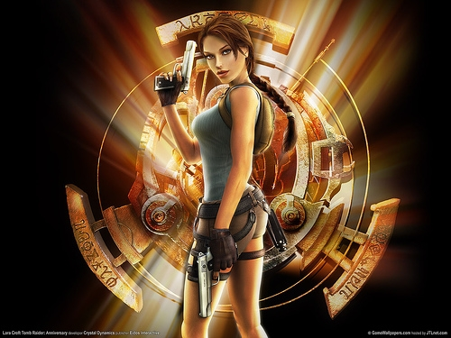 machine a sous Lara Croft